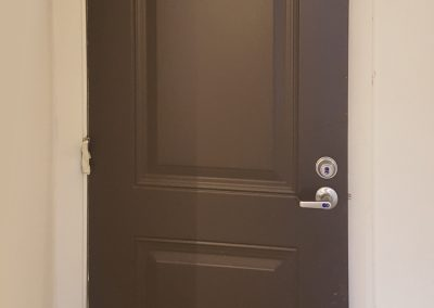 Freshly Painted 2 Panel Door