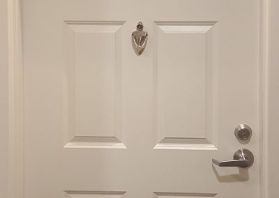 6 Panel Door With Knocker